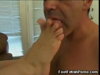 Slut Getting Her Toes Sucked