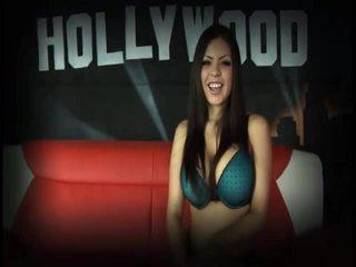 zábava prsia veľký, najhorúcejšie bruneta, viac rozkošný čerstvý