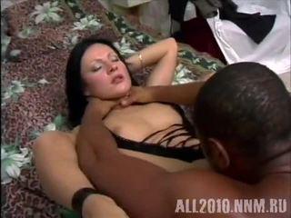Russian girls love black cocks