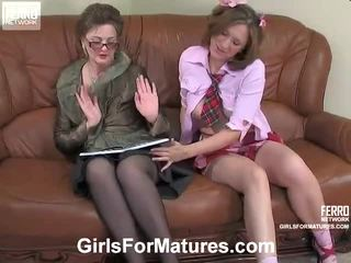 Leonora And Jaclyn Lesbo Mom On Mov