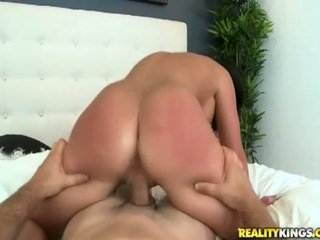 brünette, big dick, hq cowgirl frisch