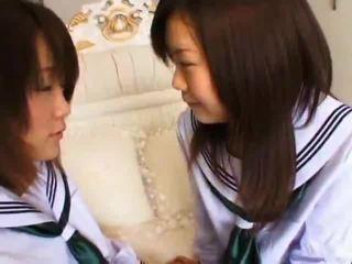 First Time Lesbian Sex Virgins Amaya&Etsuko