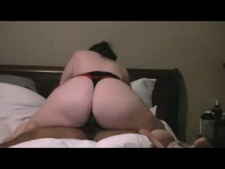 PAWG Rides Black Dick Homemade Video