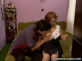 Rear rammed abuela