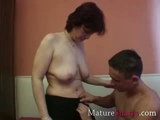 Amateur Granny With Hairy Snatch