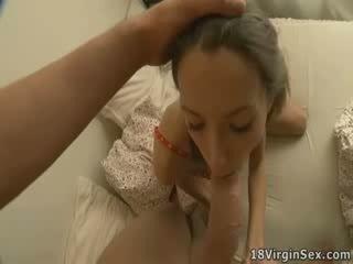 Morning ass drilling vor virgin babe Veronica.