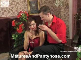 nominale sesso hardcore bello, più collant nuovo, caldi porn mature più caldo