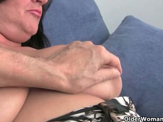 Busty soccer milf needs to get off (compilation)
