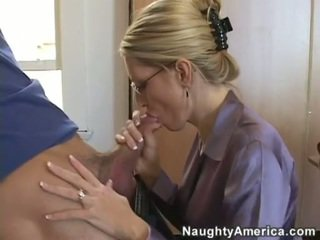 blowjobs, huge tits, glasses, huge cock