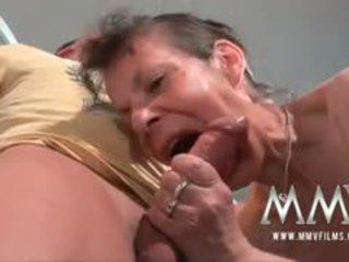 brunette porn, best granny film, blowjob thumbnail