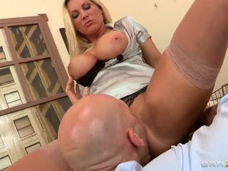 Big Breasted Office Slut Devon Lee Sucking Dick