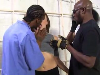 Chanel Preston interracial gangbang