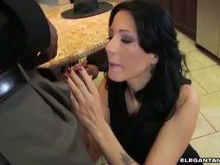 Zoe Holloway love to drain the black guys main vein