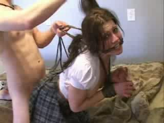 Teen Girl Attacked Bondage And Brutally Fucked Video