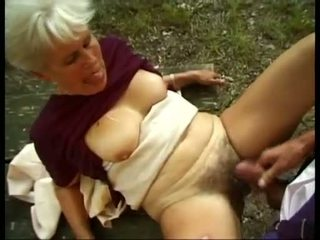 new granny you, hottest outdoor most