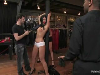 Blindfolded India Summer Spanked With No Mercy