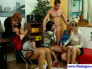 new group sex real, all pissing, pee see