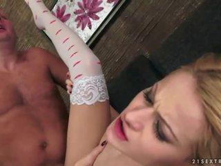 nominale hardcore sex klem, plezier orale seks video-, kwaliteit blondjes actie