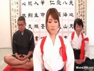 Monada japonesa karate nena abusada part6