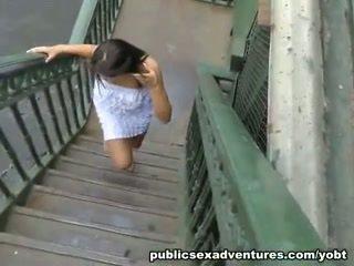 Amateur public restroom sex