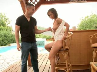 Toby and Tina fucks at the poolside Video