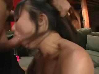 Katsumi shaged τεράστιος σε ερωτικός bald κάστορας μετά φανταστικός cocksuck