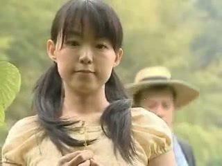 Japońskie dziewczyna fucked na zewnątrz