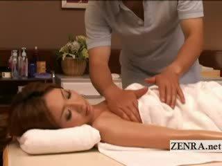 великий масажистка перевіряти, японський гаряча, веселий повний
