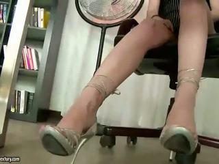 heetste voet fetish, voet aanbidding seks, controleren voet baan film