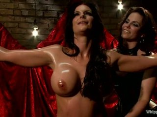 Oustanding Boobed Pornstar Phoenix Marie Has Punished By Bobbi Starr