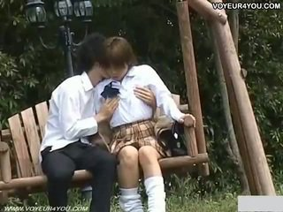 Horny Man And Woman Outdoor Sex