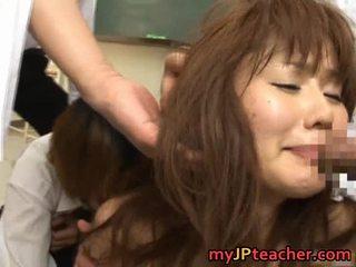 Megu Ayase Lovely Asian Instructor Has