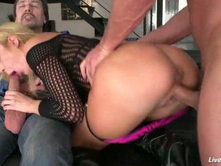 u assfucking seks, dubbele penetratie, schoonheid mov