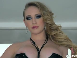 Livegonzo kagney linn karter sexy babeh getting fucked all over