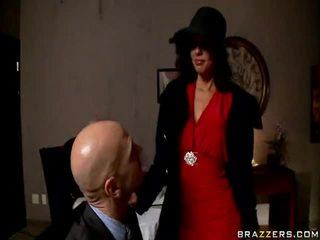 bruneta, ideální hardcore sex, vyhodit práce horký