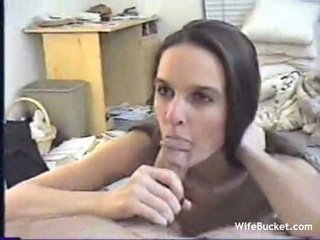 Young amateur wife gets fucked on camera