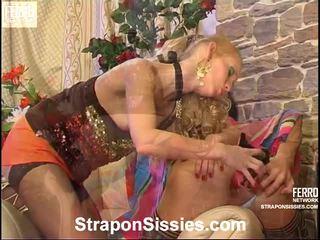Emilia And Gilbert Strapon Sissysex Video