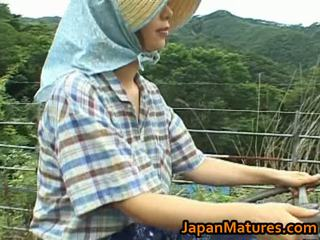 Chisato shouda এশিয়ান পুর্ণবয়স্ক গাল gets