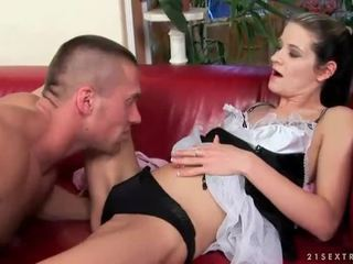 Boy and maid fucking and pissing on each other