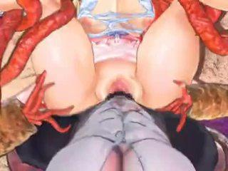 nominale hentai video-, echt spel gepost, monster