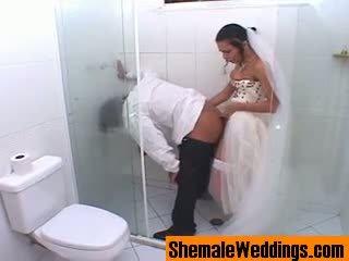 Bruna 淫 人妖 新娘