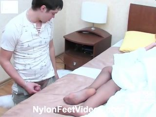 you foot fetish, watch stocking sex hottest