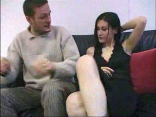 Ovidie सेक्स पर एक काउच फ्रेंच