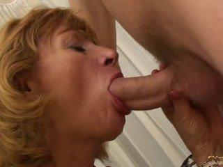 big boobs, women, granny
