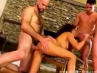 Olivia del rio banged バイ 3 dudes