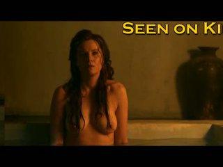 Lucy lawless et viva bianca humide et seins nus vidéo