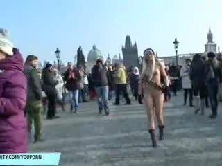 great flashing movie, more outdoor, public nudity posted