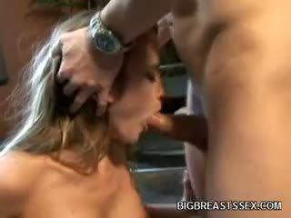 बेस्ट बड़े स्तन, blowjob, गोरा सबसे