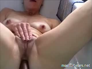 Ann 51 Years Belgium Mom Cumming In Bath