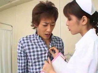 סקסי חם אסייתי יפני אחות gives חם מציצות ל שלה חולה